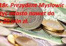 Kolejna możliwość zadłużenia miasta na kwotę nawet 20 mln zł.