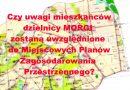 Mieszkańcy złożyli kolejne uwagi do propozycji planu zagospodarowania przestrzennego w dzielnicy Morgi.