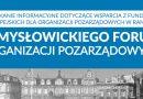 III Mysłowickie Forum Organizacji Pozarządowych odbędzie się 25 listopada br. w sali sesyjnej Urzędu Miasta Mysłowice.