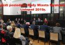 Wykaz posiedzeń organów Rady Miasta Mysłowice -Listopad 2109r.