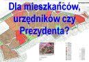 Przypomnienie dla Pana Prezydenta Mysłowic o co wnosili mieszkańcy w uwagach do planu.