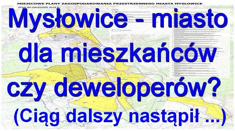 Plan zagospodarowania przestrzennego Mysłowice